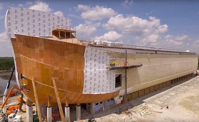 Huge life-size Noah's Ark 2