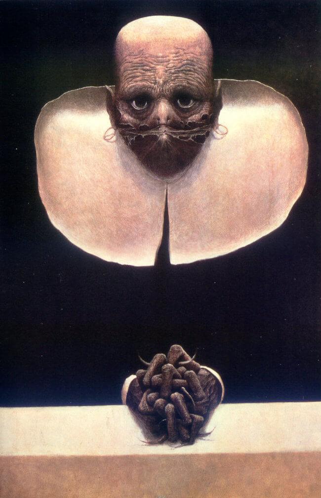 Zdzislaw Beksinski terrifying art 23