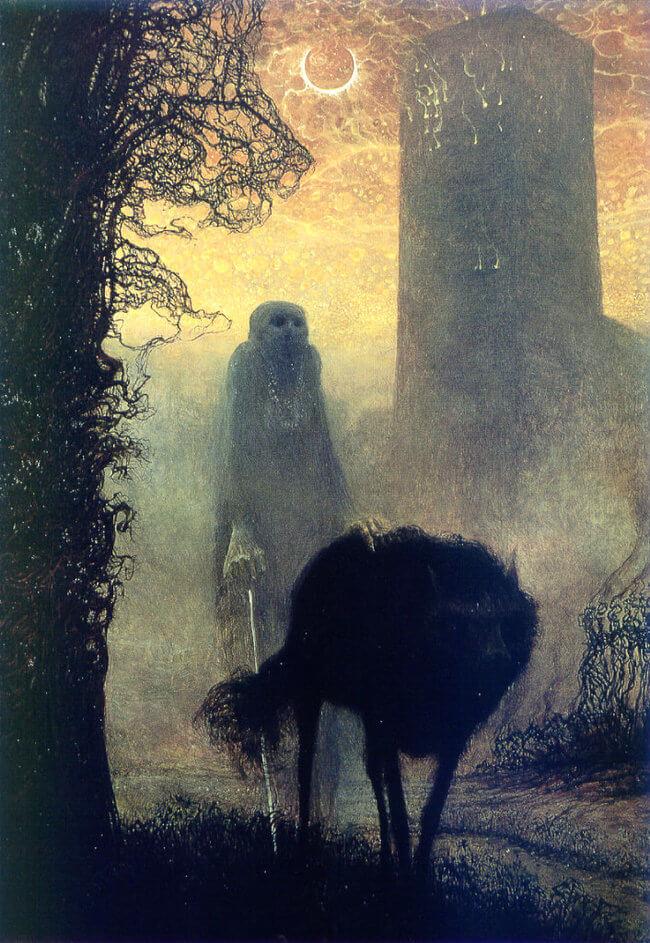 Zdzislaw Beksinski terrifying art 7