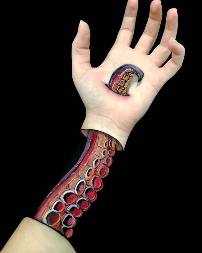 arms body art 4