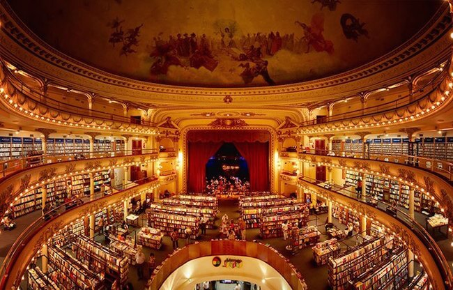 most beautiful bookshop in the world 1