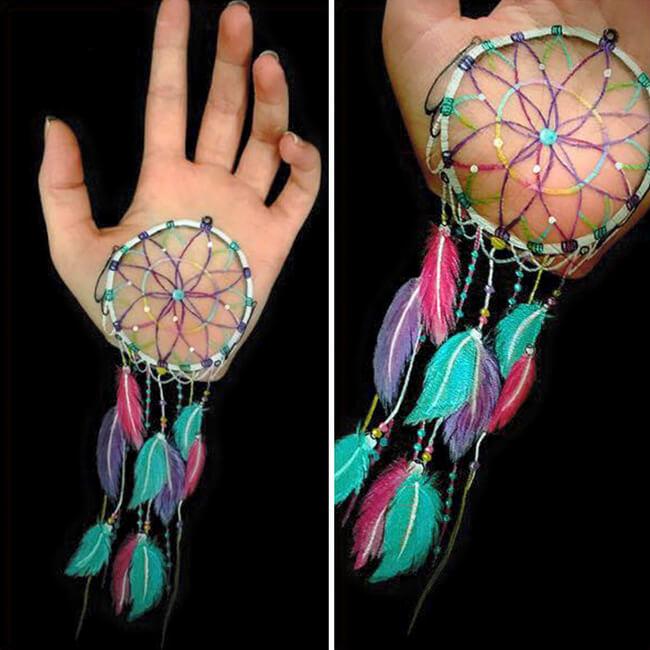 Lisha Simpson Body Art Arms Optical Illusions 10