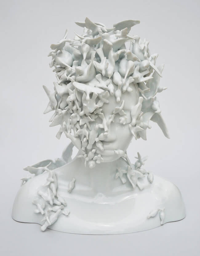 Juliette Clovis Creates Remarkable Porcelain Female Forms 1