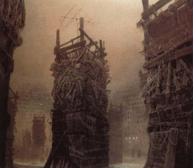 Zdzislaw Beksinski terrifying art 9