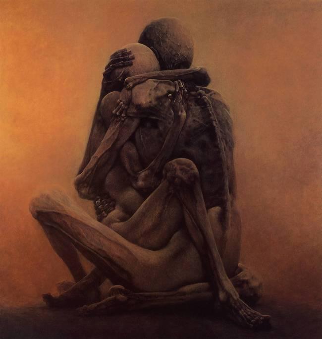 Zdzislaw Beksinski terrifying art 5