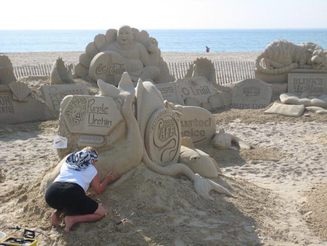 sand sculpture 15