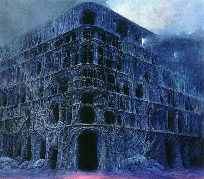 Zdzislaw Beksinski terrifying art 20