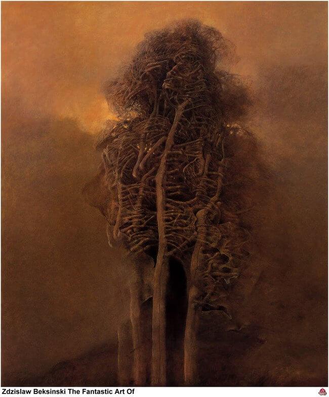 Zdzislaw Beksinski terrifying art 16