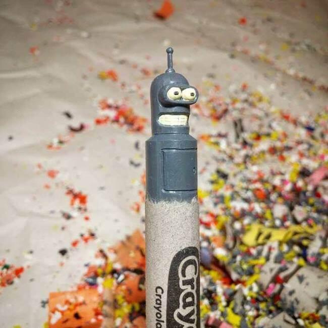 crayon sculptures 29