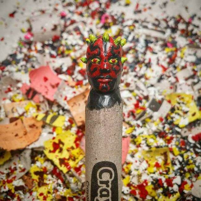 crayon sculptures 2