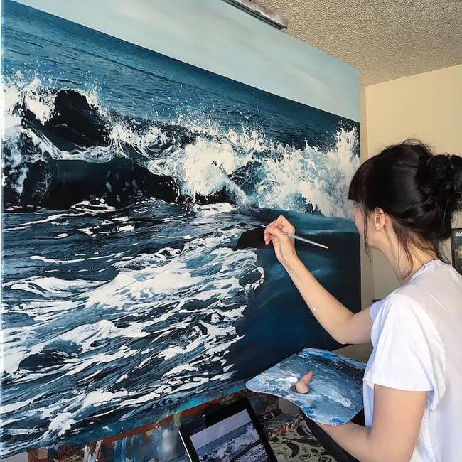 realistic paintings 1