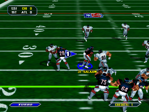 awesome arcade games - NFL blitz
