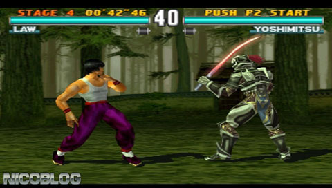 awesome arcade games - Tekken 3
