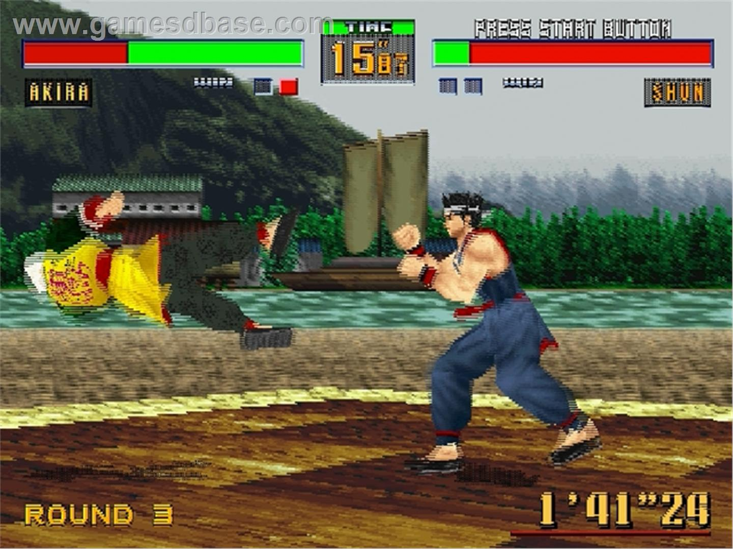 awesome arcade games - Virtua Fighter 2