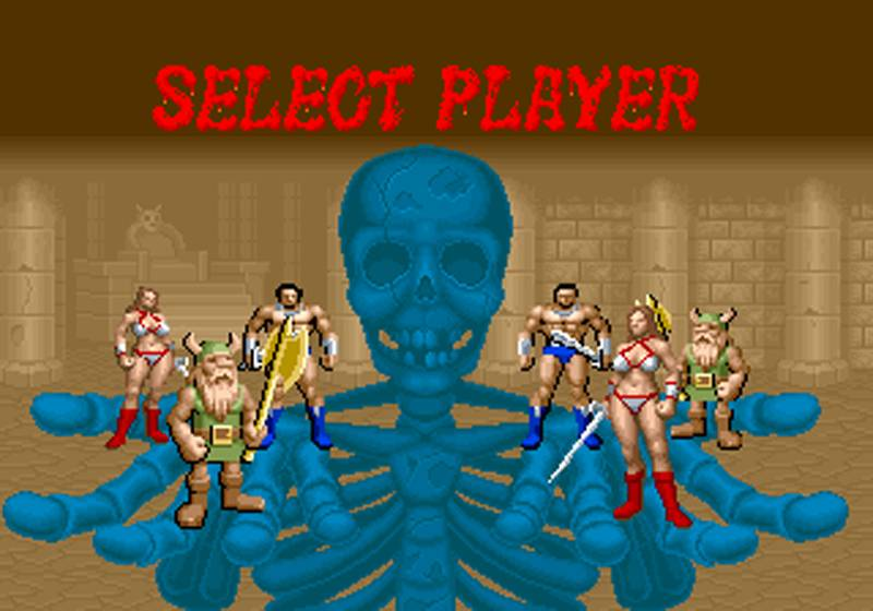 awesome arcade games - golden axe