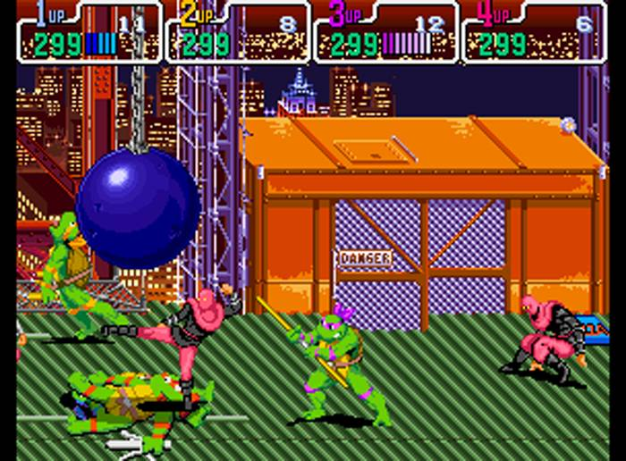 awesome arcade games - tmnt