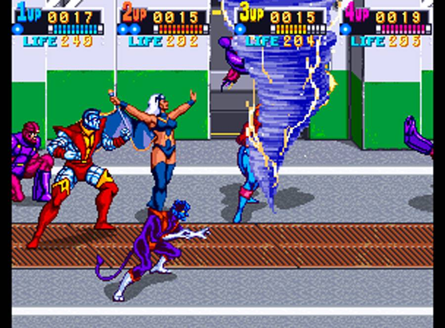 awesome arcade games - x man