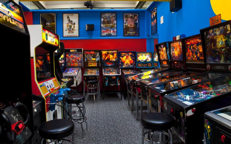 arcade game places