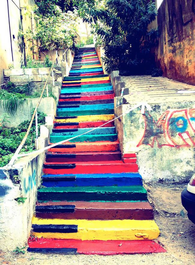 stairs art 10