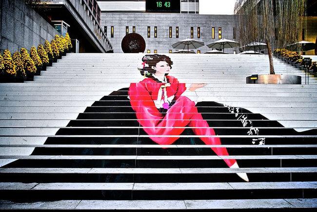 stairs art 11