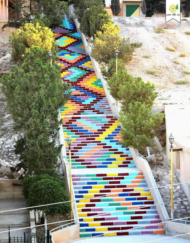 stairs art 12
