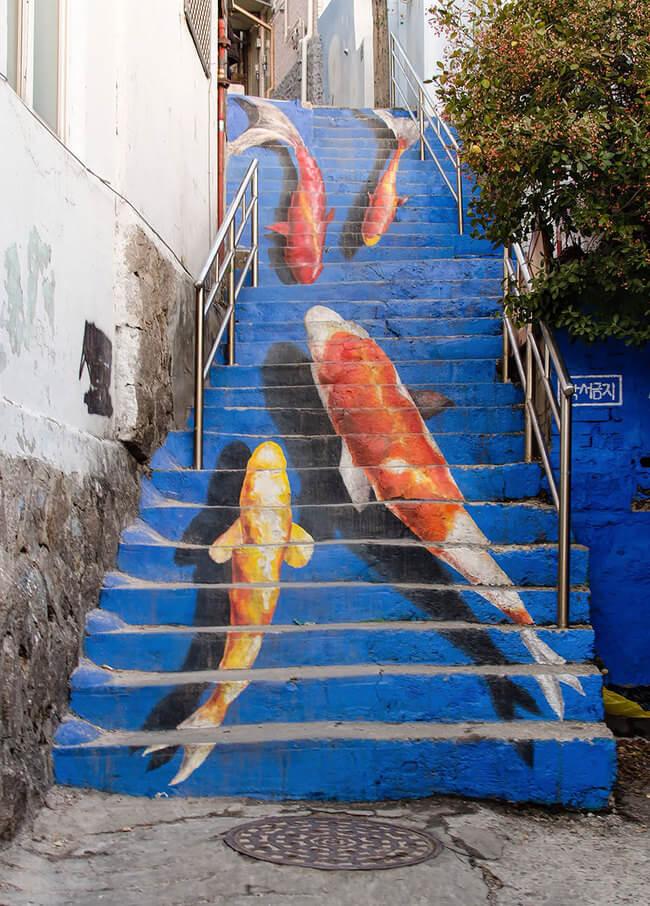 stairs art 6