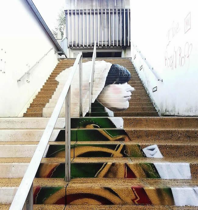 stairs art 16