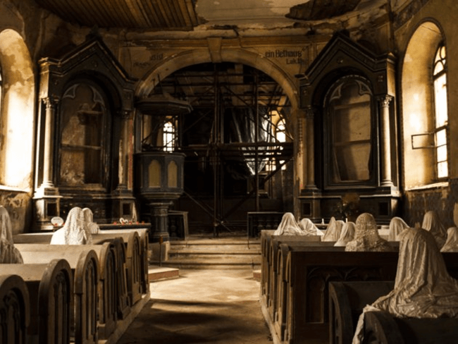 Creepy Abandoned Church In Czech Republic 1