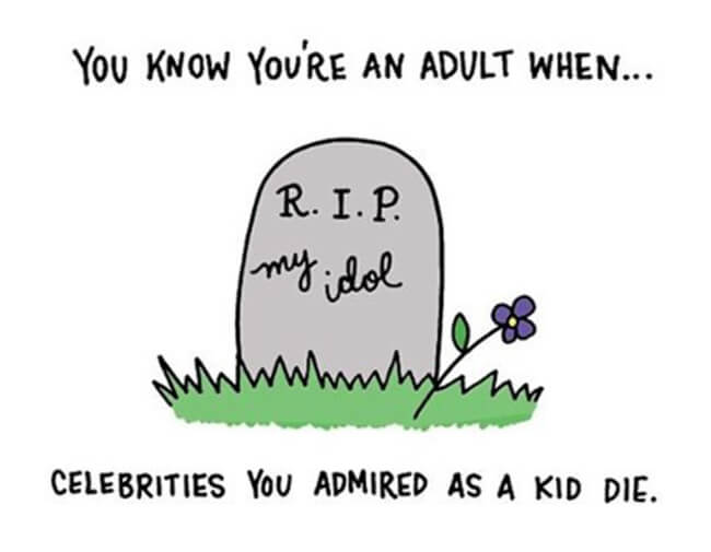 Funny Illustrations show you're An Adult 13