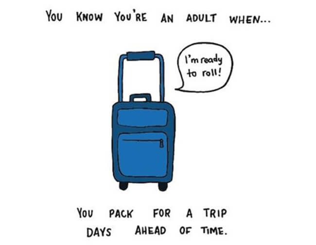 Funny Illustrations show you're An Adult 22