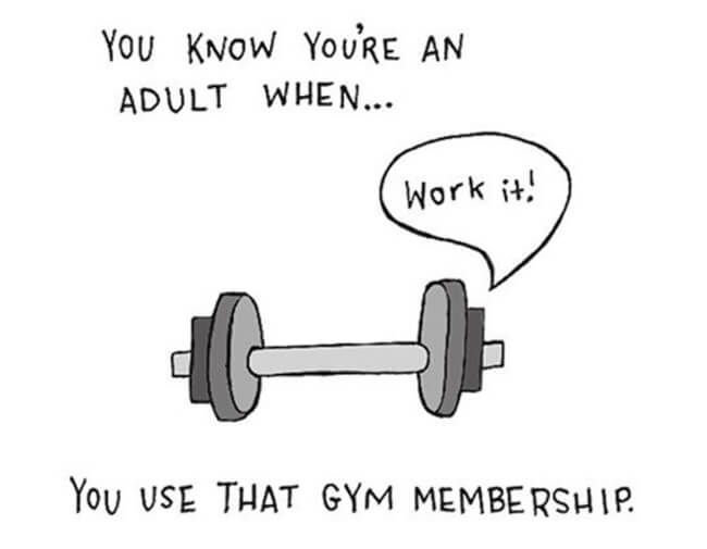 Funny Illustrations show you're An Adult 9
