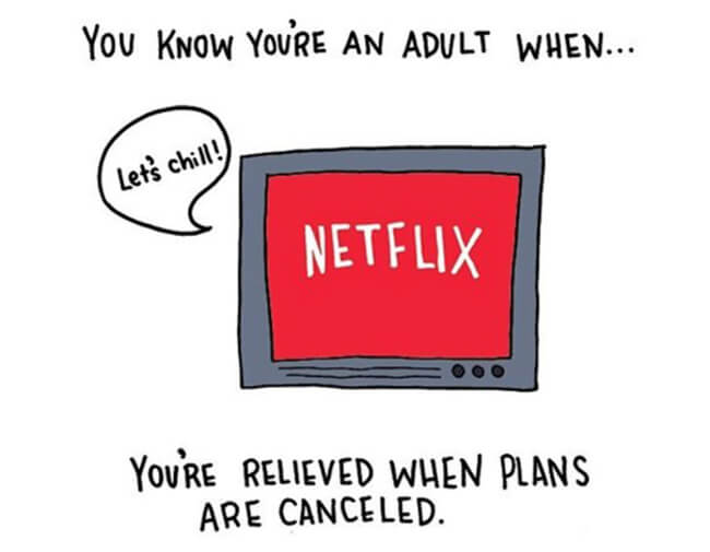 Funny Illustrations show you're An Adult 11