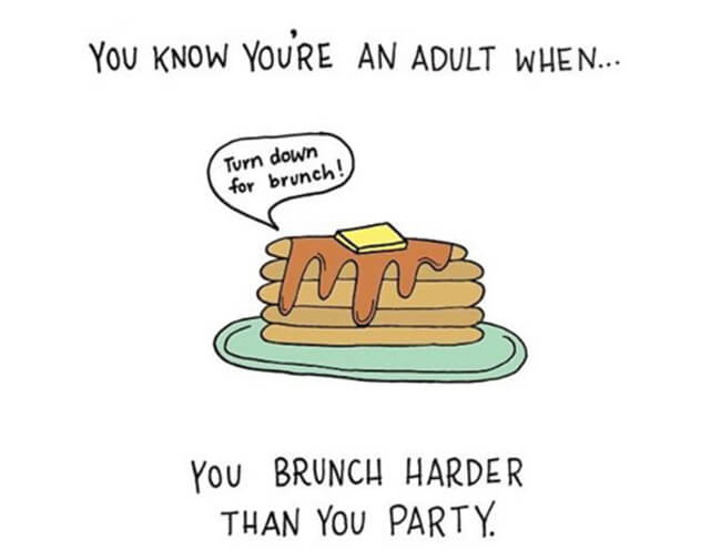 Funny Illustrations show you're An Adult 17