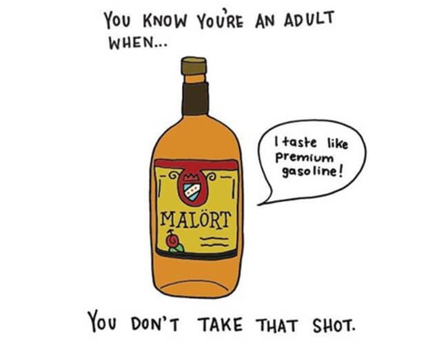 Funny Illustrations show you're An Adult 10