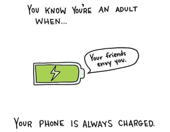 Funny Illustrations show you're An Adult 3