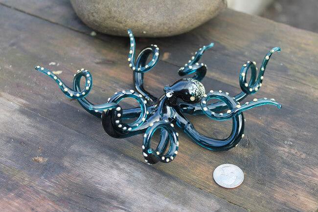 Nikita Drachuk Creates Stunning Glass Creatures 9