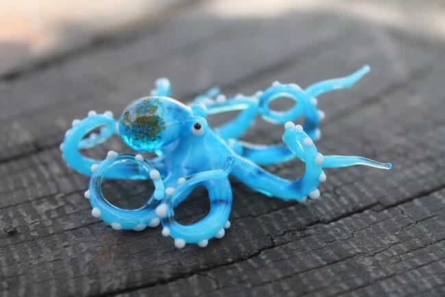 Nikita Drachuk Creates Stunning Glass Creatures 1