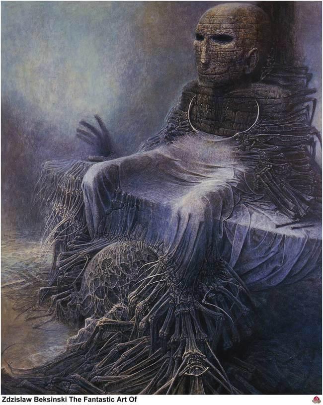 Zdzislaw Beksinski terrifying art 15