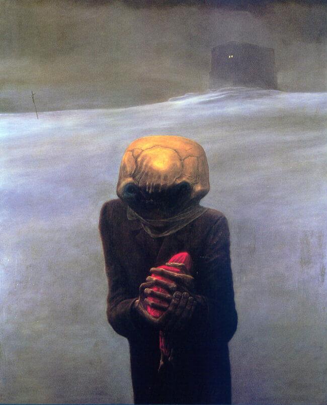 Zdzislaw Beksinski terrifying art 21
