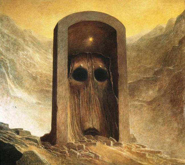 Zdzislaw Beksinski terrifying art 8