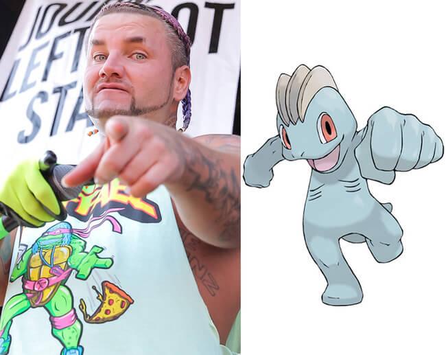 celebs look like pokemon 2