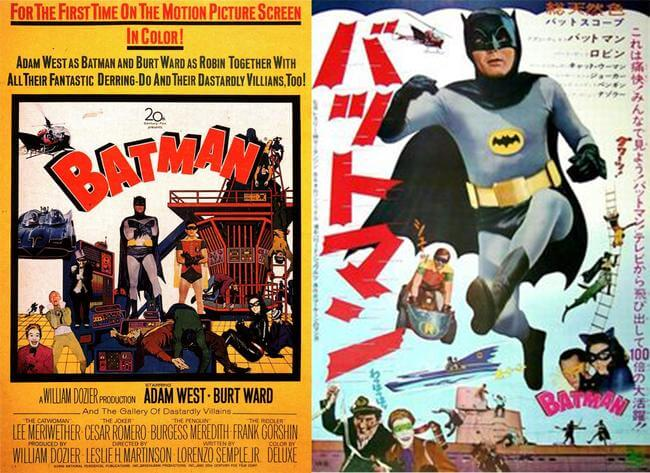 Iconic American Movie Posters Vs. Their Foreign Comparison 11