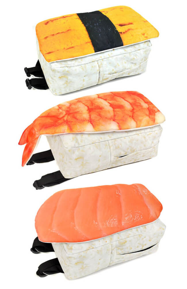 Backpacks Look Like Sushi 4