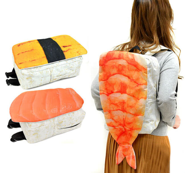 Giant Sushi Backpacks From Japan 1