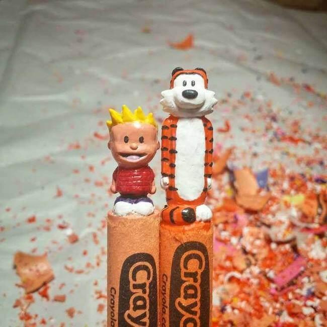 crayon sculptures 13