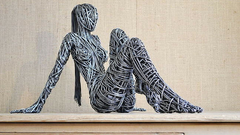 wire sculptures feat