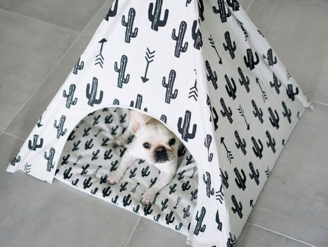This Adorable Dog Teepee Is Everything Your Dog Wants And More