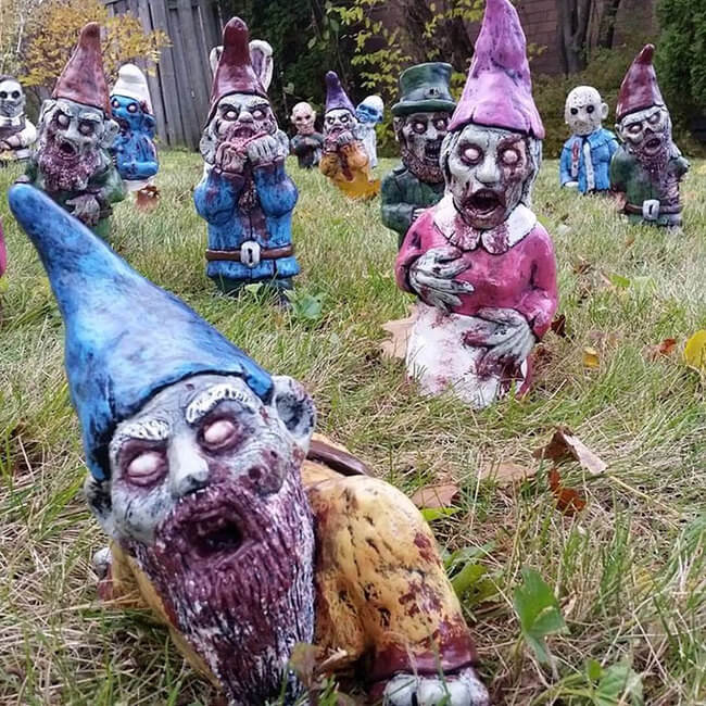 zombie statues 4