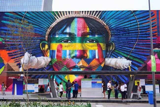 Largest Street Mural 3