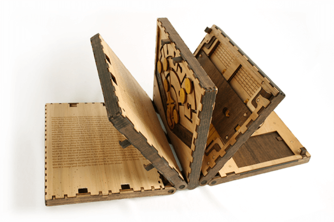 book wooden puzzle 1